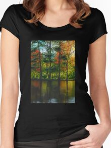 Forest Reflections Women's Fitted Scoop T-Shirt