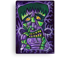 FrankenTiki2: ElectricBoogaloo Canvas Print