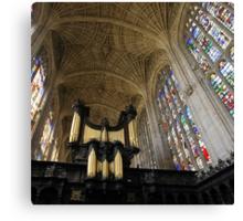 The Kings Organ Canvas Print