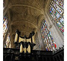 The Kings Organ Photographic Print