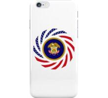 Utah Murican Patriot Flag Series iPhone Case/Skin