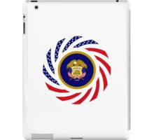 Utah Murican Patriot Flag Series iPad Case/Skin