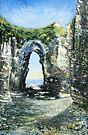 Arch, Flamborough Head by Sue Nichol