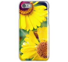 Yellow Wild Flowers iPhone Case/Skin