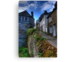 Rose Hill Port Isaac Canvas Print