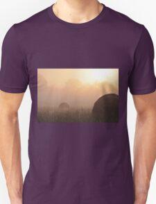 Foggy Morning on the Farm, As Is Unisex T-Shirt