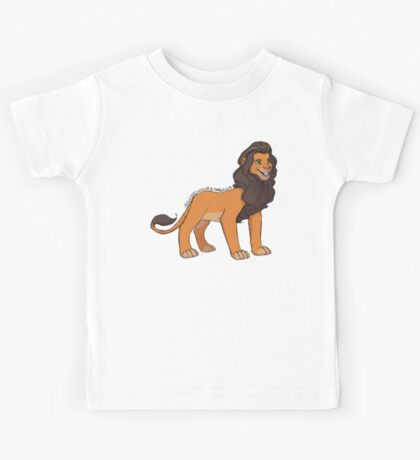 Large Lion Kids Tee