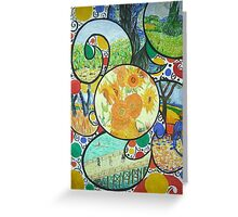 Van Gogh Study Greeting Card