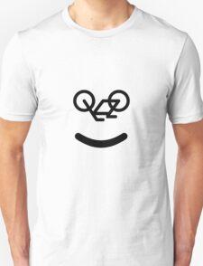 Bike Smiley Unisex T-Shirt