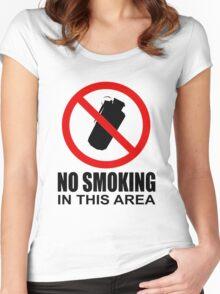 No smoking - CS:GO Women's Fitted Scoop T-Shirt