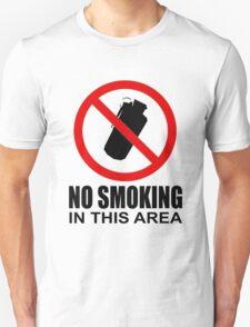 No smoking - CS:GO T-Shirt
