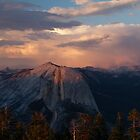 Half Dome Sunset by rakosnicek