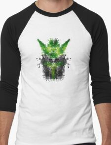 Rorschach Yoda Men's Baseball ¾ T-Shirt