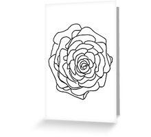 Pine Cone Sketch Greeting Card
