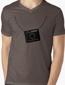 Retro camera Mens V-Neck T-Shirt