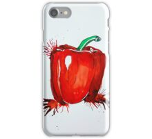 Red Pepper Rectangle iPhone Case/Skin