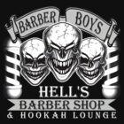 Barber Skulls: Hell's Barber Shop & Hookah Lounge by sdesiata