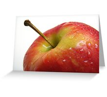 Apple (2) Greeting Card