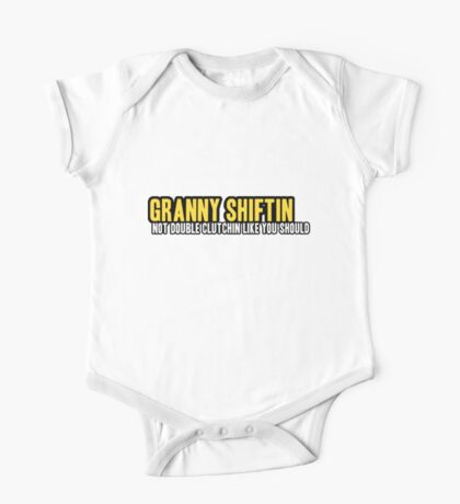 Granny shiftin - 5 One Piece - Short Sleeve