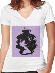 A Small Thing Women's Fitted V-Neck T-Shirt