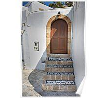 Mosaic Steps Poster