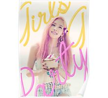 SNSD-TAEYEON-PARTY Poster