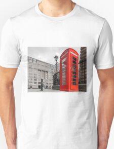 British Red Telephone Box Unisex T-Shirt