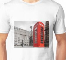 British Red Telephone Box Unisex T-Shirt