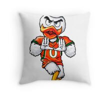 Canes Throw Pillow