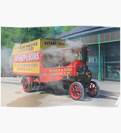 Steam Wagon. Poster