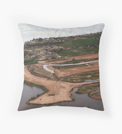 Yarrawonga East Throw Pillow