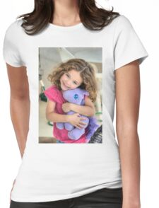 Eva and Uni Womens Fitted T-Shirt