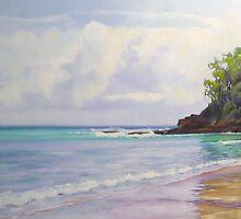 Main Beach, Noosa Heads Queensland by Chris Hobel
