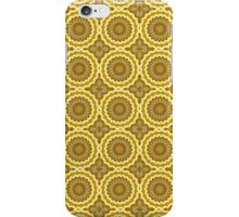 Abstract Daisies iPhone Case/Skin