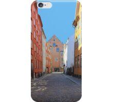 Magstraede - the oldest street in Copenhagen, Denmark iPhone Case/Skin
