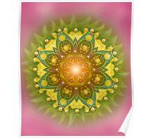 Heart Chakra Love-Grace-Tenderness-Compassion- Joy Poster