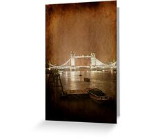 London Bridge - London Greeting Card