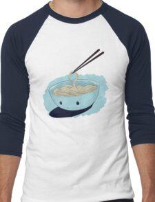 Bowl of Cold noodles Men's Baseball ¾ T-Shirt