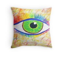 Bow Lashed Throw Pillow
