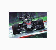 2015 McLaren Honda F1 Austrian GP Alonso  Unisex T-Shirt