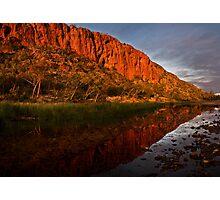 """Reflections"" Glen Helen Gorge - West Macdonnel Ranges-N.T. Photographic Print"