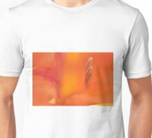 Orange Gladiolus, As Is Unisex T-Shirt