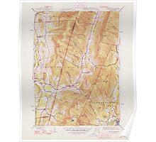 Massachusetts  USGS Historical Topo Map MA Hancock 351776 1948 31680 Poster