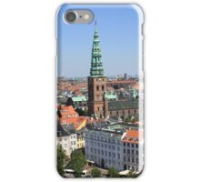 Aerial View of Copenhagen, Denmark iPhone Case/Skin