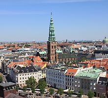 Aerial View of Copenhagen, Denmark by Atanas Bozhikov Nasko