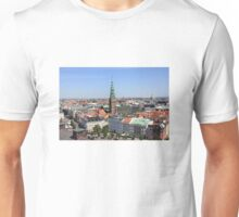 Aerial View of Copenhagen, Denmark Unisex T-Shirt
