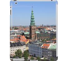 Aerial View of Copenhagen, Denmark iPad Case/Skin