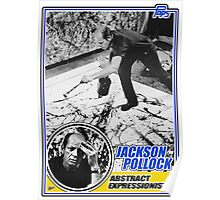 Jackson Pollock Trading Card Poster