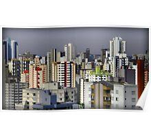 Goiania - Apartment Buildings Poster