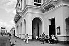 Cuban street life by Nayko